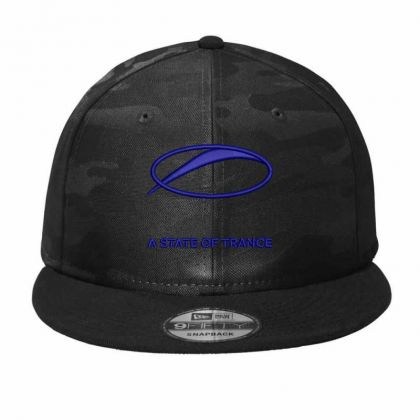 A State Of Trance Camo Snapback Designed By Madhatter