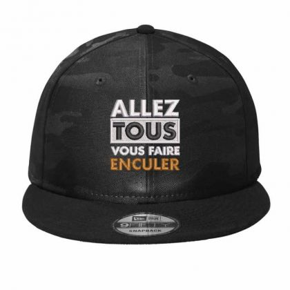 Allez Tous Camo Snapback Designed By Madhatter