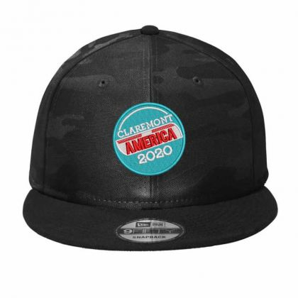 America 2020 Camo Snapback Designed By Madhatter