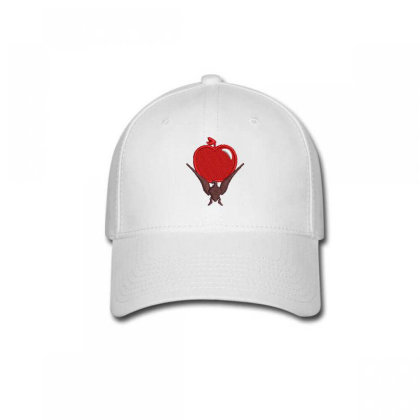 Red Apple Embroidered Hat Baseball Cap Designed By Madhatter