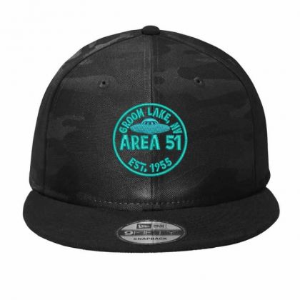 Area 51 Camo Snapback Designed By Madhatter