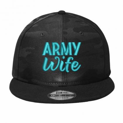 Army Wife Camo Snapback Designed By Madhatter