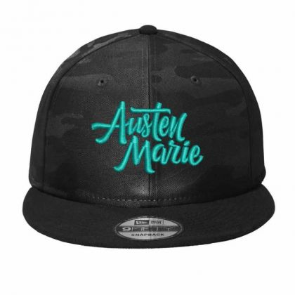 Austen Marie Camo Snapback Designed By Madhatter