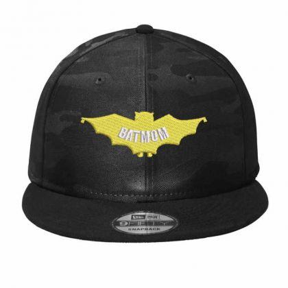 Bat Mom Camo Snapback Designed By Madhatter