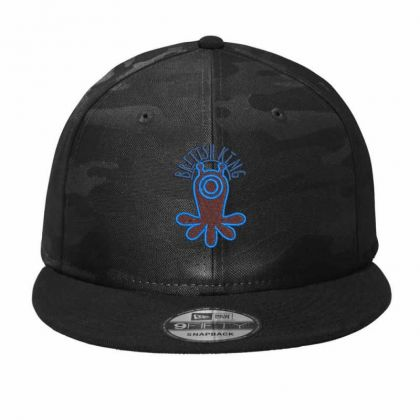 British King Camo Snapback Designed By Madhatter