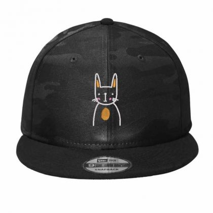 Cute Cat Camo Snapback Designed By Madhatter