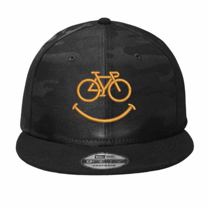 Happy Cycle Camo Snapback Designed By Madhatter