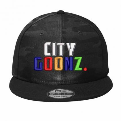 City Goodz Camo Snapback Designed By Madhatter
