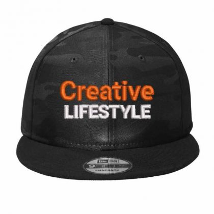 Creative Lifestyle Camo Snapback Designed By Madhatter