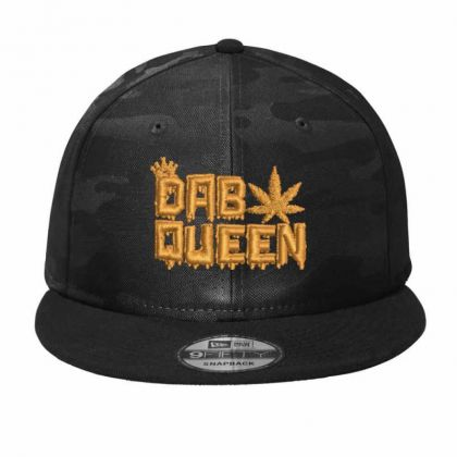 Dab Queen Camo Snapback Designed By Madhatter