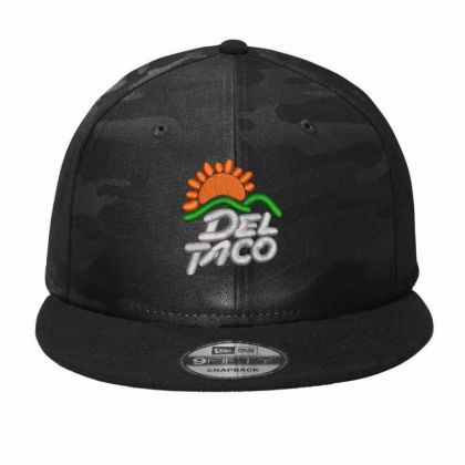 Del Taco Camo Snapback Designed By Madhatter