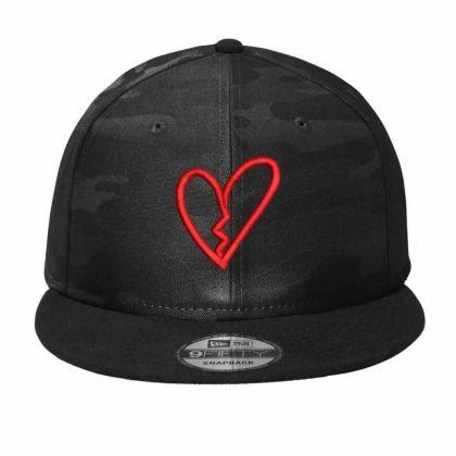 Broken Heart Camo Snapback Designed By Madhatter