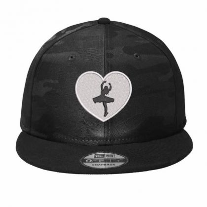 Dancing  Girl Camo Snapback Designed By Madhatter