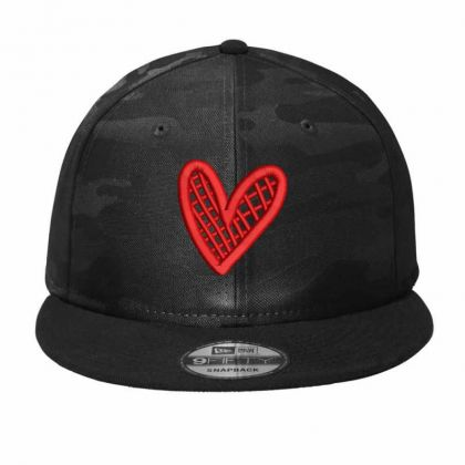 Heart Fill Camo Snapback Designed By Madhatter