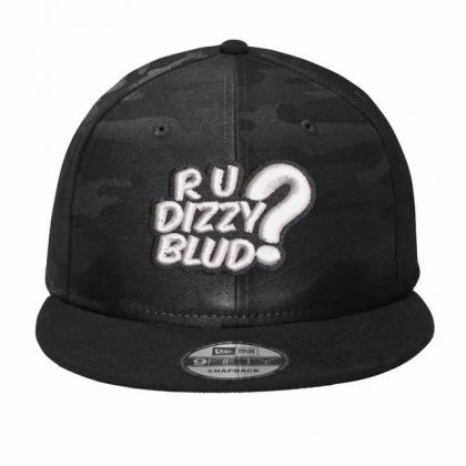 Are You Bizzy? Camo Snapback Designed By Madhatter
