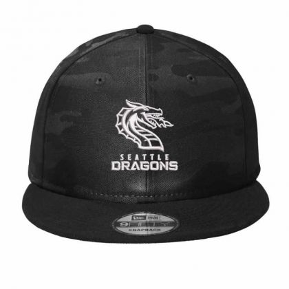 Dragons Camo Snapback Designed By Madhatter