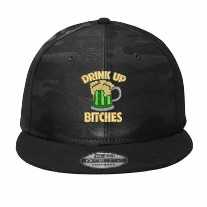 Drink Up Camo Snapback Designed By Madhatter