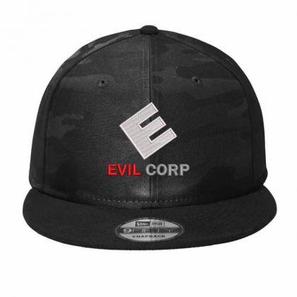 Evil Crop Camo Snapback Designed By Madhatter