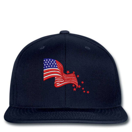 America Flag Embroidered Hat Snapback Designed By Madhatter