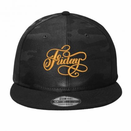 Happy Friday Camo Snapback Designed By Madhatter