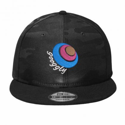 Googgly Camo Snapback Designed By Madhatter