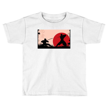 Ninja Art Toddler T-shirt Designed By Ninja Art