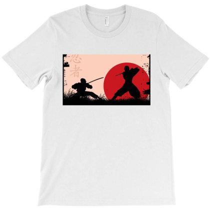 Ninja Art T-shirt Designed By Ninja Art