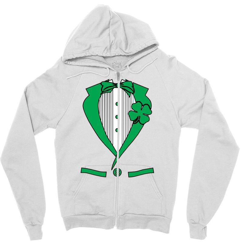 Irish-suit Zipper Hoodie | Artistshot