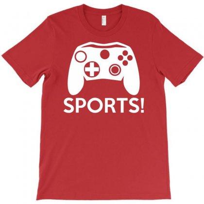 Sports Video Games T-shirt Designed By Mdk Art