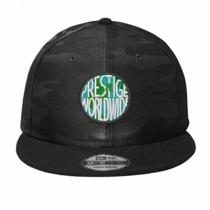 Prestige Worldwide Embroidered Hat Camo Snapback Designed By Madhatter