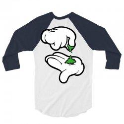 dope hand 3/4 Sleeve Shirt | Artistshot