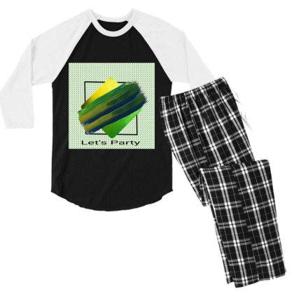 All New For Everyone Men's 3/4 Sleeve Pajama Set Designed By Sunil Kumar