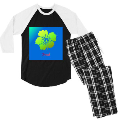 Poster2 25 20251 Men's 3/4 Sleeve Pajama Set Designed By Sunil Kumar