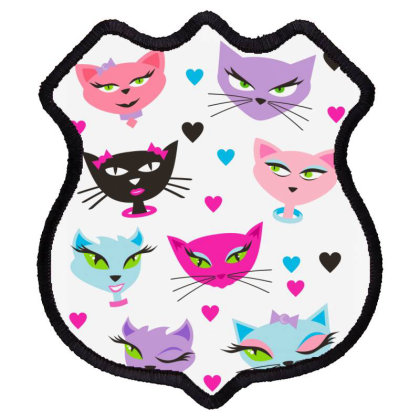 Cats Shield Patch Designed By Estore