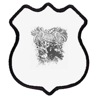 Skull Shield Patch Designed By Estore