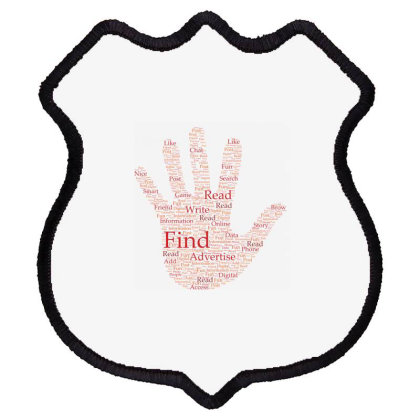 Hand Shield Patch Designed By Estore