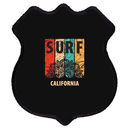 Surf California Shield Patch Designed By Estore