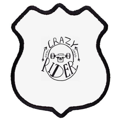 Crazy Rider Shield Patch Designed By Estore