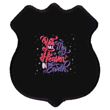You My Are Heaven Earth Shield Patch Designed By Estore