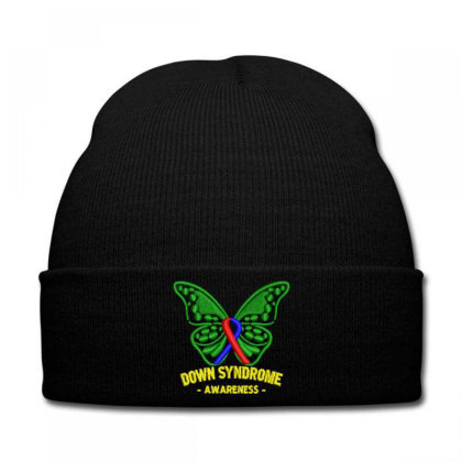 Down Syndrome Embroidered Hat Knit Cap Designed By Madhatter
