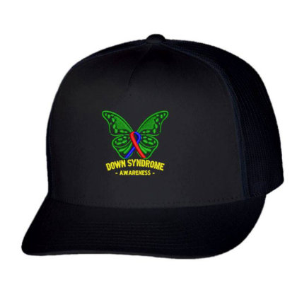 Down Syndrome Embroidered Hat Trucker Cap Designed By Madhatter