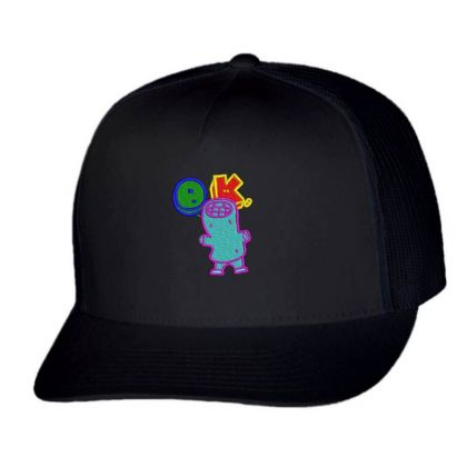 Okay World Embroidered Hat Trucker Cap Designed By Madhatter