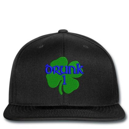 Drunk Irish Embroidered Hat Snapback Designed By Madhatter