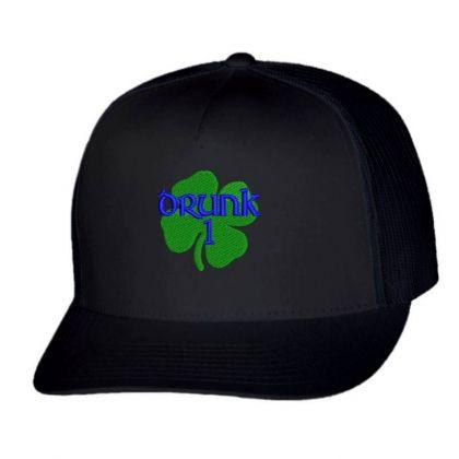 Drunk Irish Embroidered Hat Trucker Cap Designed By Madhatter