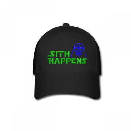 Sith Happens Embroidered Hat Baseball Cap Designed By Madhatter