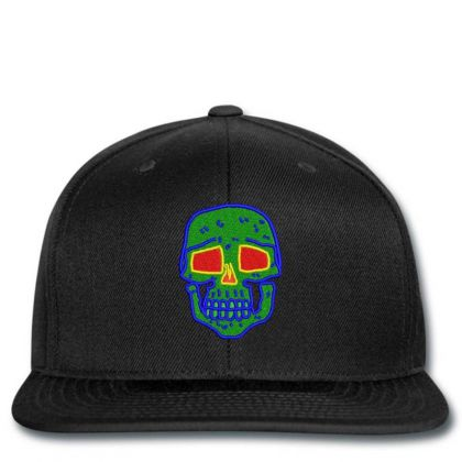Skull Embroidered Hat Snapback Designed By Madhatter