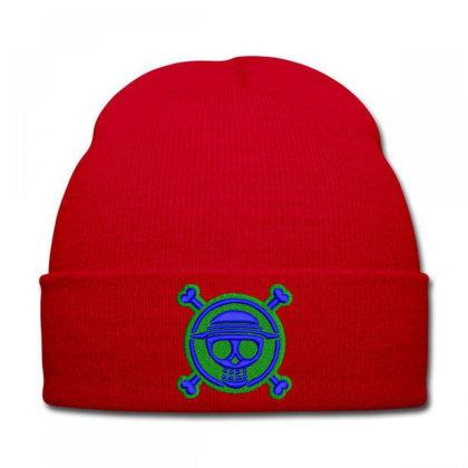 Skeleton Embroidered Hat Knit Cap Designed By Madhatter