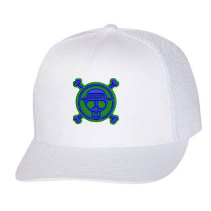 Skeleton Embroidered Hat Trucker Cap Designed By Madhatter