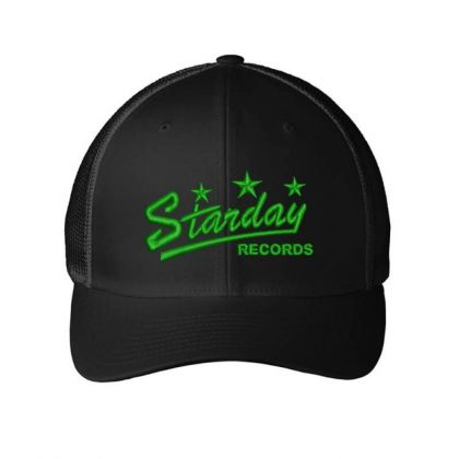 Starday Records Embroidered Hat Embroidered Mesh Cap Designed By Madhatter