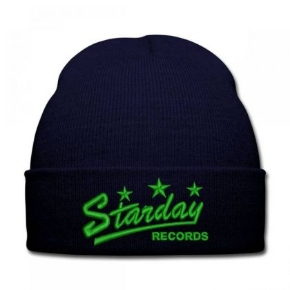 Starday Records Embroidered Hat Knit Cap Designed By Madhatter